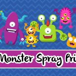 FREE Monster Spray Label