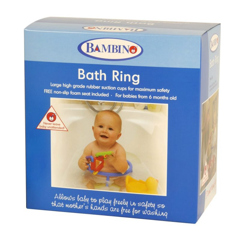 Bath Ring to keep little ones secure and free moms hands
